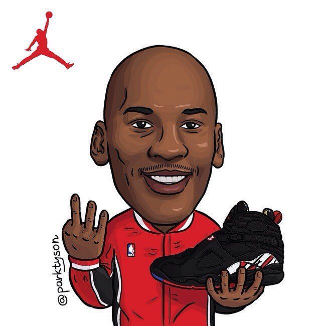 cartoon nike shoes drawing basketball legends 864530