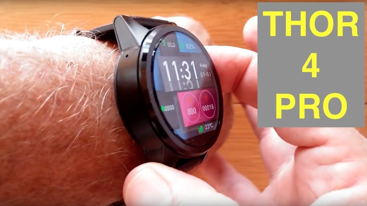Smart Watch ZEBLAZE THOR 4 PRO 4G Android 7 1 1 LARGE 1 6