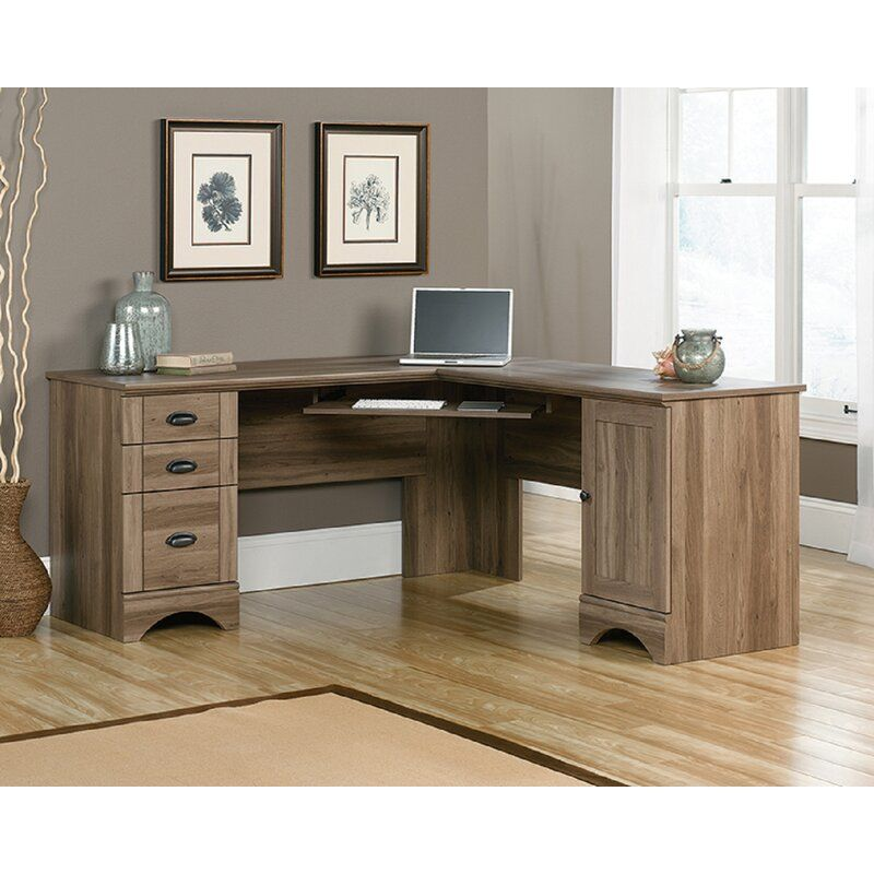 Sauder Harbor View Computer Desk Reviews Wayfair In 2020 With