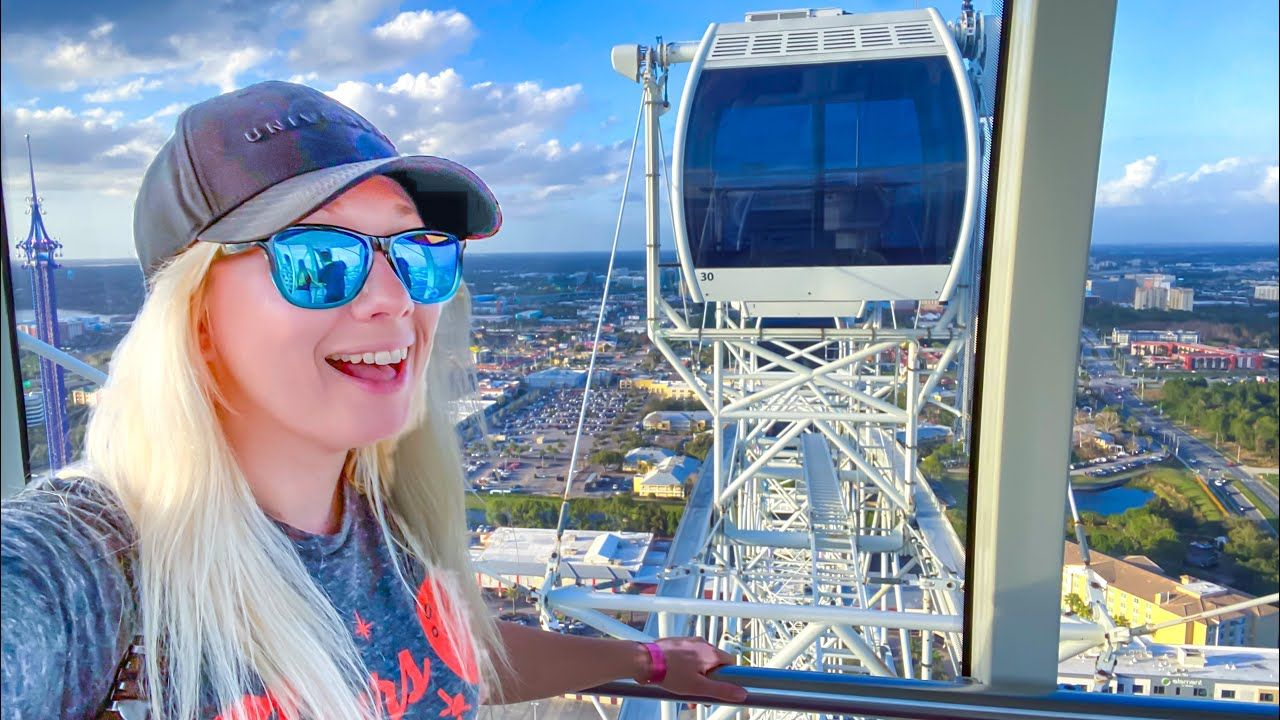 We Rode The Wheel at Icon Park 🎡 Orlando Wine Festival