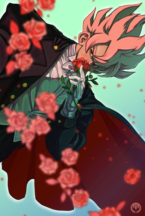 super saiyan rose by manokmetz on deviantart 悟空 pinterest