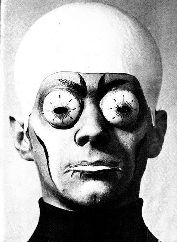 Photo from a monster make-up handbook by Dick Smith published in 1965 as a one off Famous Monsters Of Filmland magazine. °