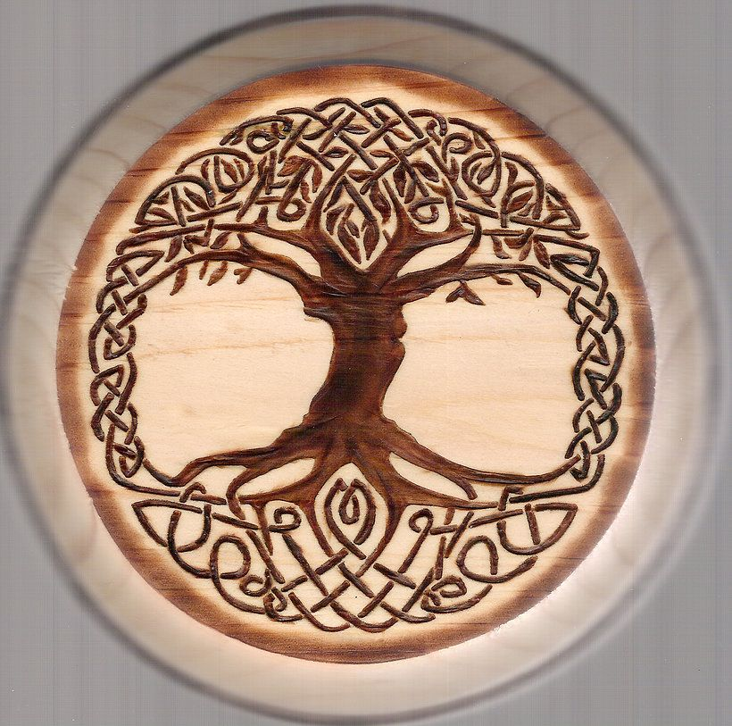 Image Result For Tree Of Life Pyrography Viking And
