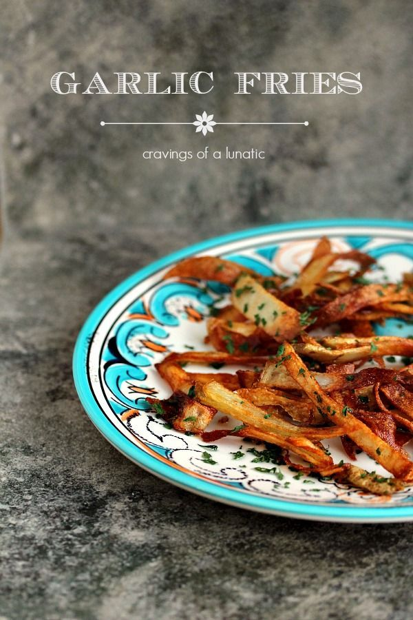 Homemade Garlic Fries Garlic Fries from . Super easy to make and absolutely delicious! Never order