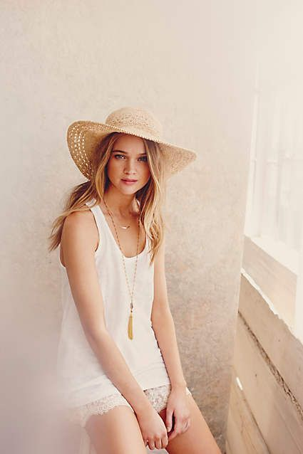 Tessuto Wide-Weave Sun Hat - anthropologie.com