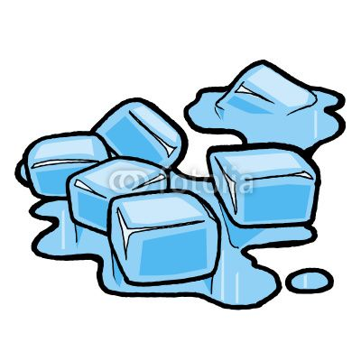 Ice Cube Clip Art Free | MELTING ICE CUBES by abf, Royalty free ...