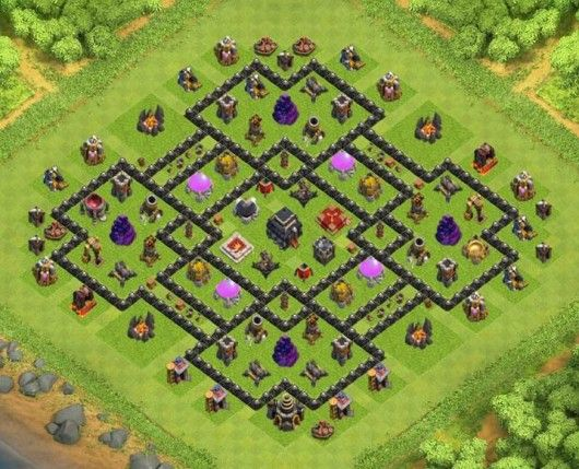 Base Coc Th 9 Terkuat 5