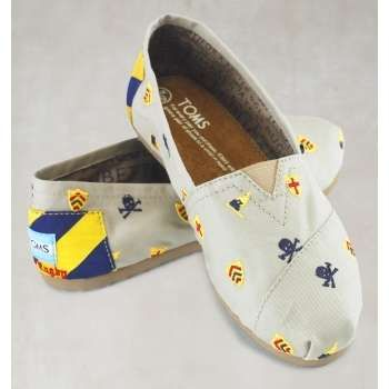 Pale White Loafers By Toms Shoes Collections Affordable Flat Slip On Toms Shoes Toms Shoes Shoe Collection Affordable Flats