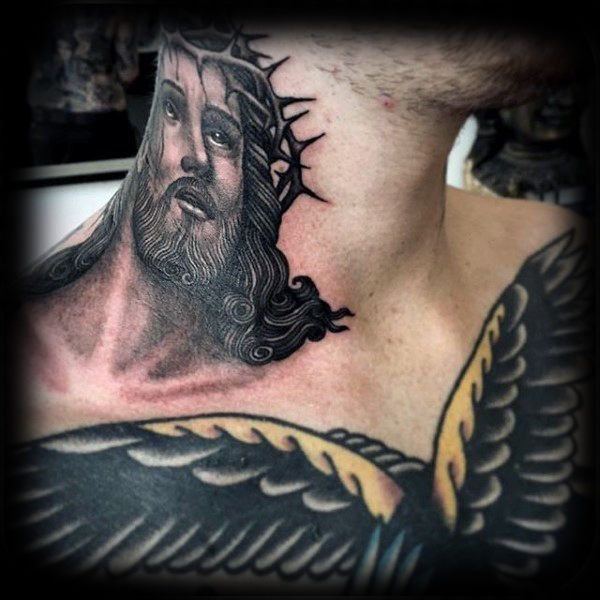 Pin On Jesus Tattoo