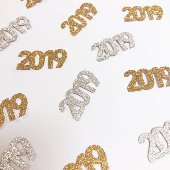 New Year's Eve Confetti, 2020 Confetti, New Year's Party Decor, New Year's Eve Table Decor, 2020, Custom Parties by PartyAtYourDoor on Etsy
