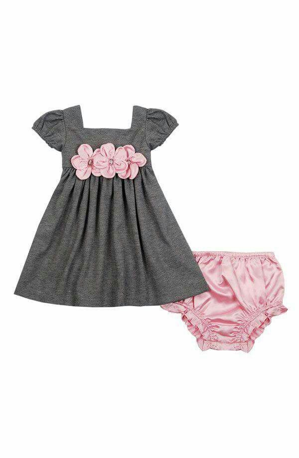 Beautiful colour combinations.   Girl outfits, Baby girl