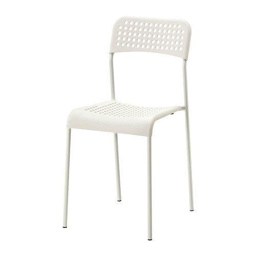 IKEA - ADDE, Silla, Las sillas se pueden apilar para ahorrar espacio ...