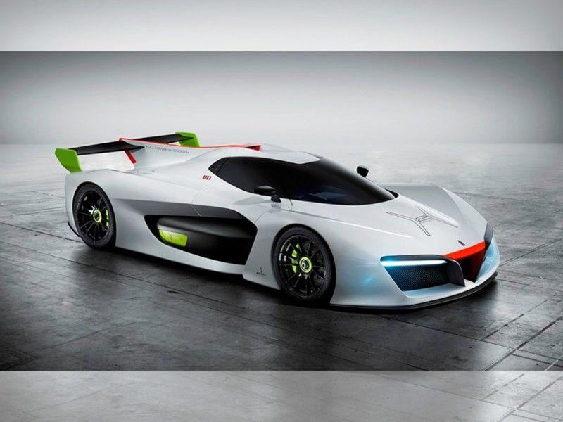 El H2 Sd Concept Car De Pininfarina Es Un Hércules Impulsado Por Hidrógeno