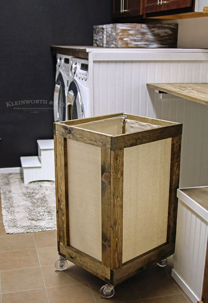 Diy To Try Laundry Hamper Vintage Laundry Room Decor Laundry Hamper Diy Diy Laundry Basket