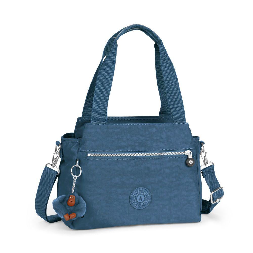 Style Kipling Elysia Handbag/shoulder Bag Jazzy Blue Fall 2016 | eBay
