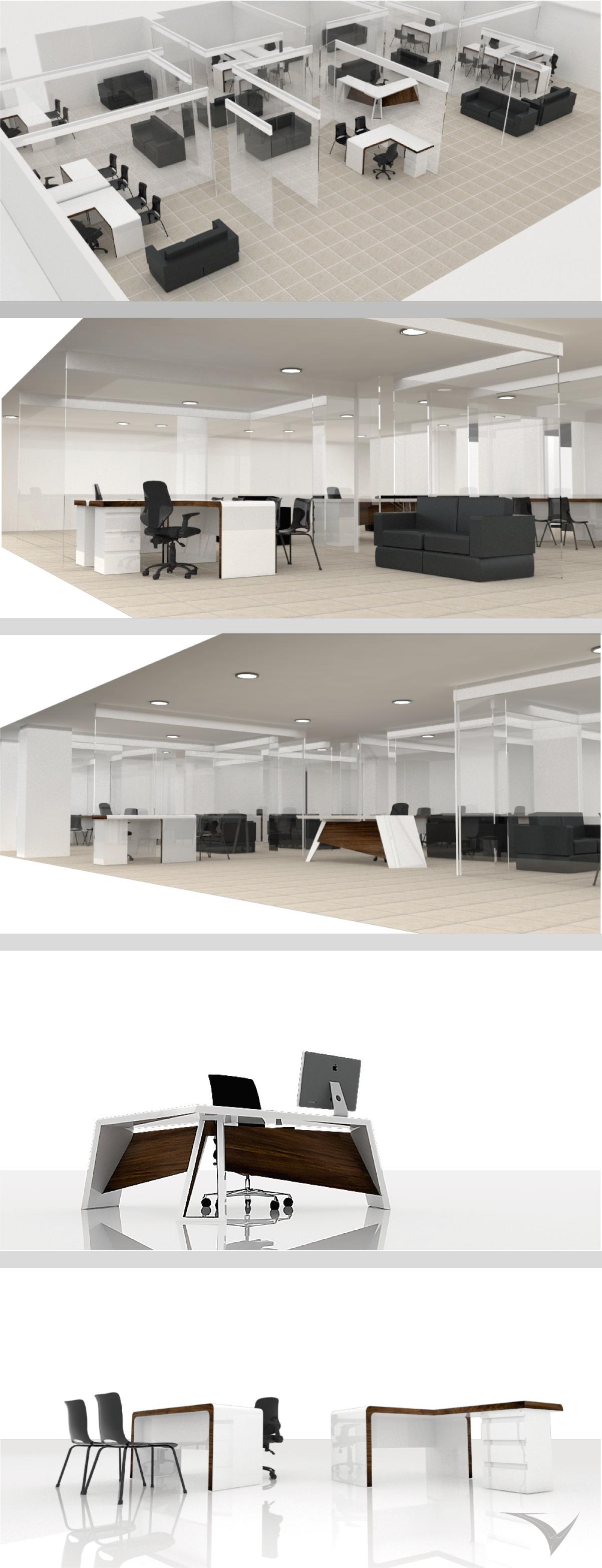 Proyecto De Interiorismo Espacios De Trabajo Alcald A De  # Muebles Fontibon