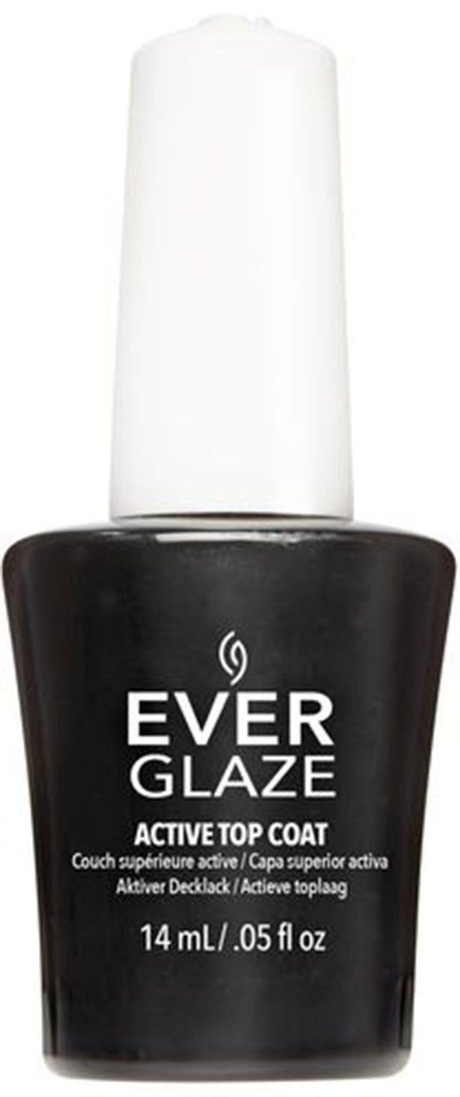 China Glaze Everglaze Nail Lacquer - Active Top Coat (0.5Oz) (82747 ...
