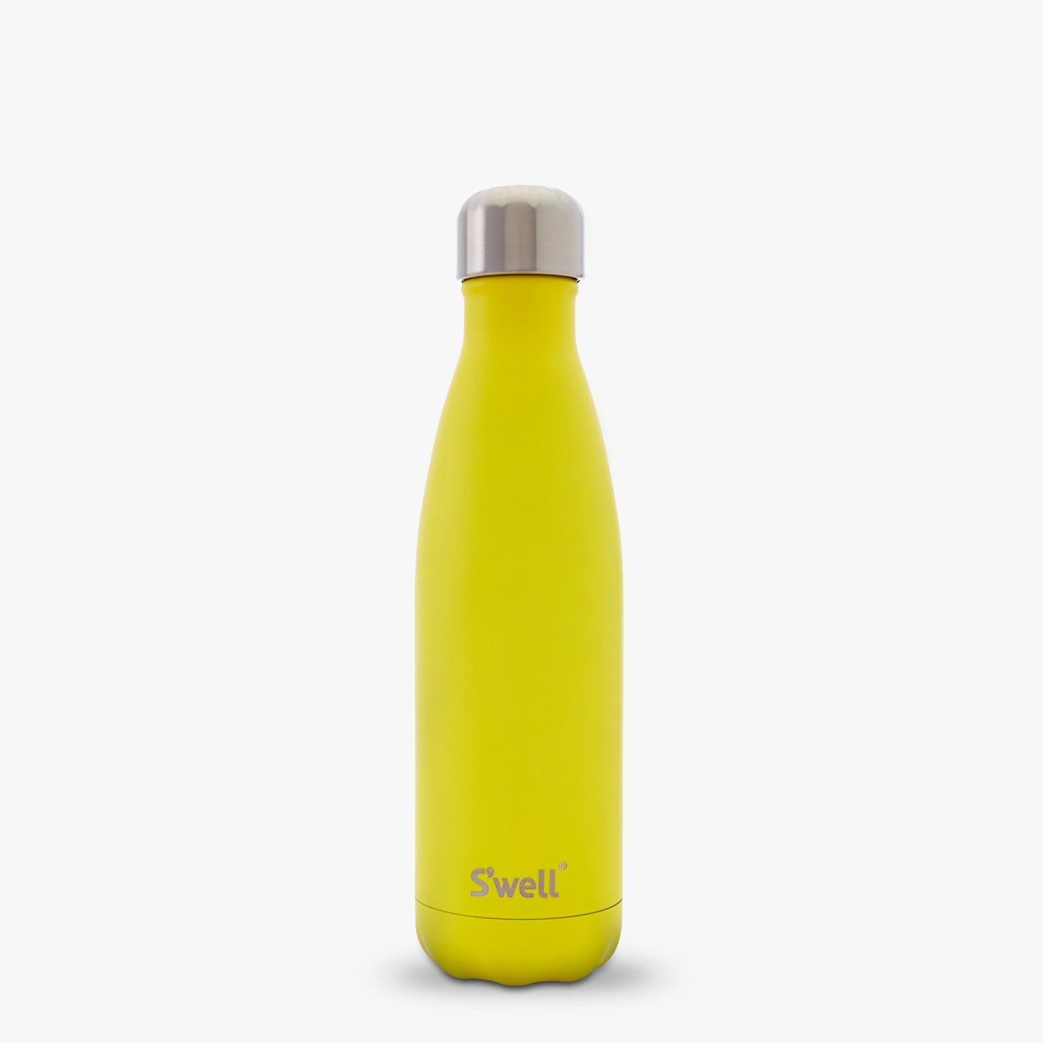 S\'well Stainless Water Bottle 17oz Satin Collection - Yellow Zinc ...