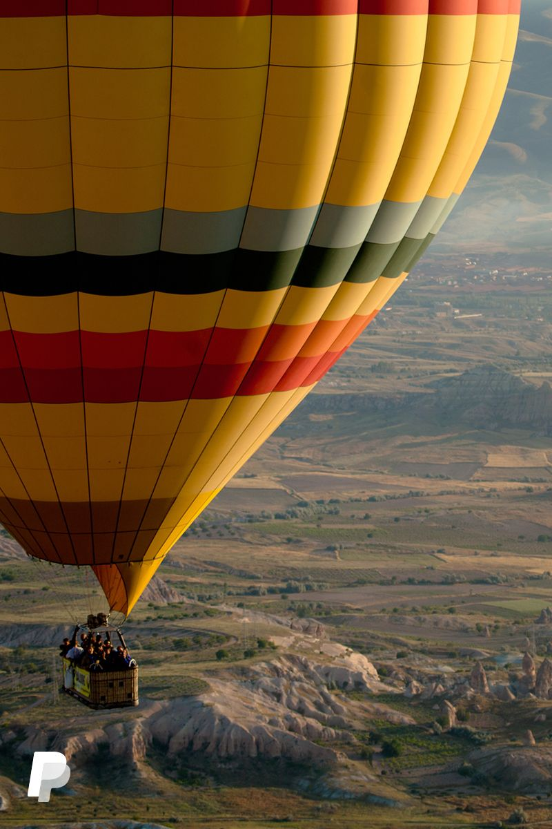 This year, the sky's the limit. Gift hot air balloon rides