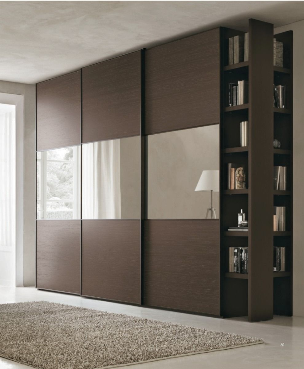 45 Comfortable And Suitable Wardrobe Design For Big Small Bedroom