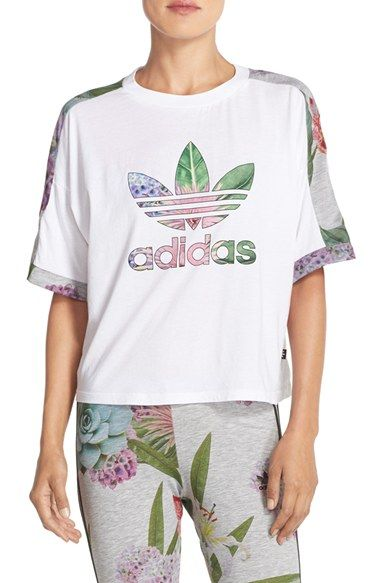 99f8bf54ed037b adidas Originals Training Cuff Tee available at  Nordstrom Cuffed Pants