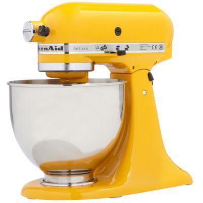 robot p tissier kitchenaid 5ksm150ps eyp jaune tournesol artisan food and cooking ideas. Black Bedroom Furniture Sets. Home Design Ideas
