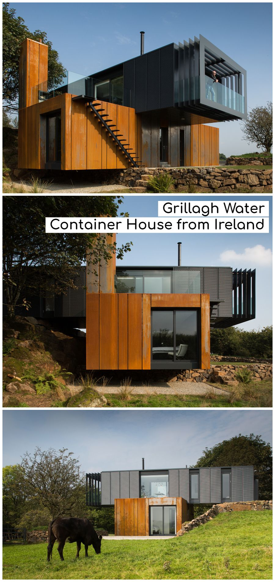 Grillagh Water Container House from Ireland
