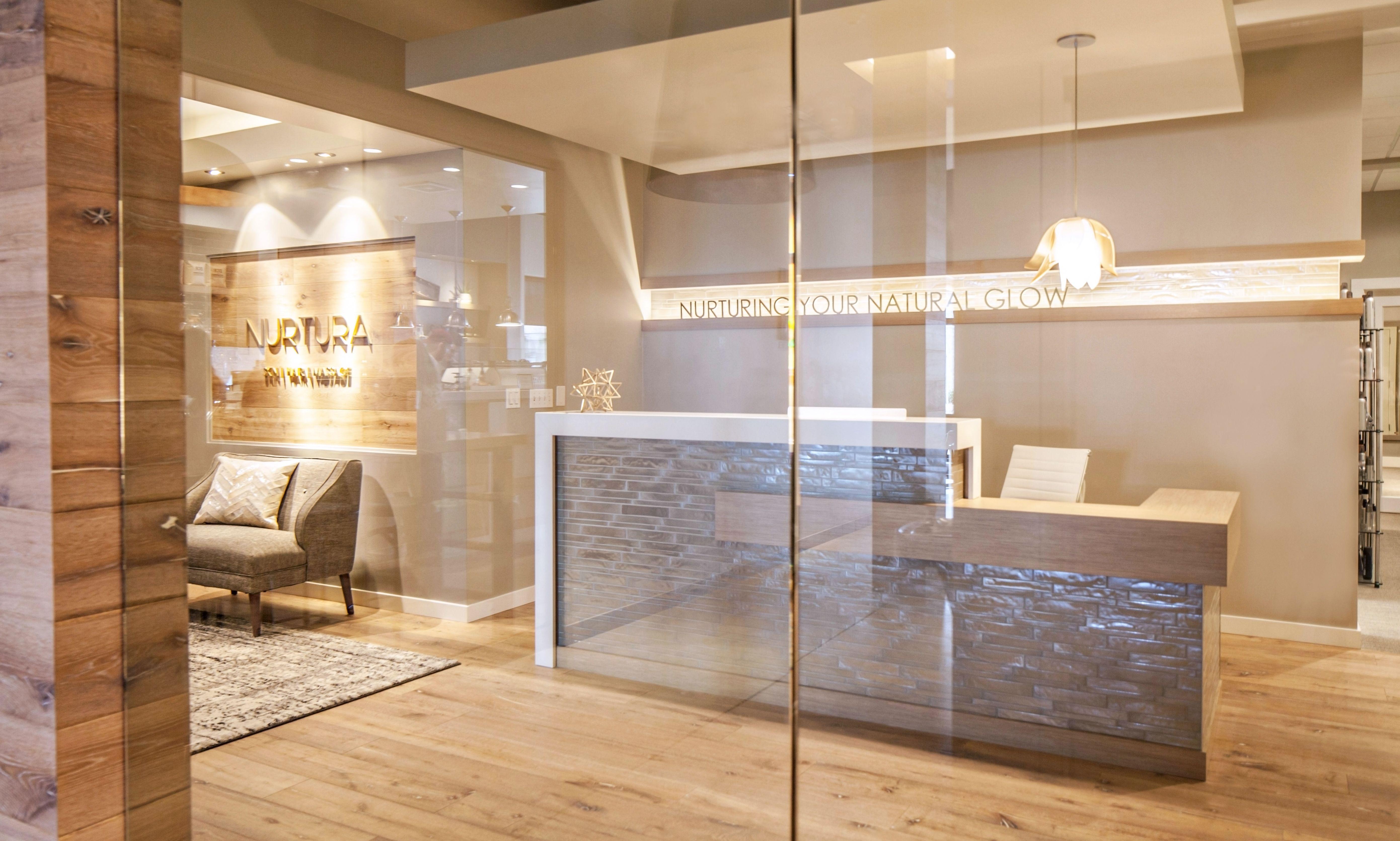 pernuladesign.com, greet desk design, reception desk ...