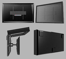 The TV Shield PRO outdoor TV enclosure diagram