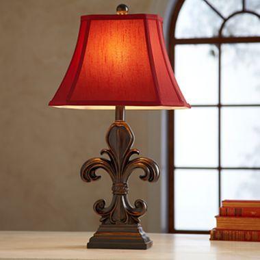 I Have This It S Beautiful Fleur De Lis Table Lamp 22