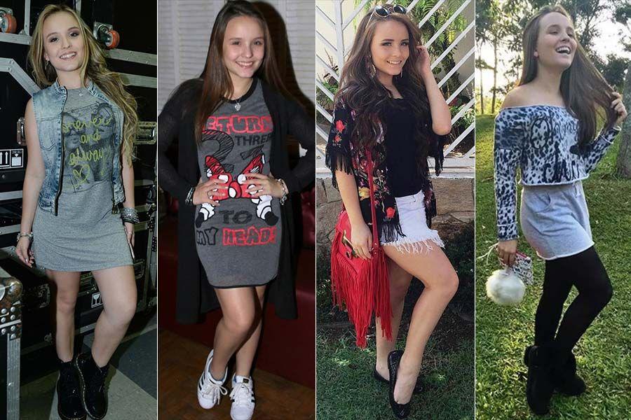 0d259eb1099e6 Larissa Manoela Taques Elias Santos, 16 anos, nasceu no Paraná. Foi  descoberta aos