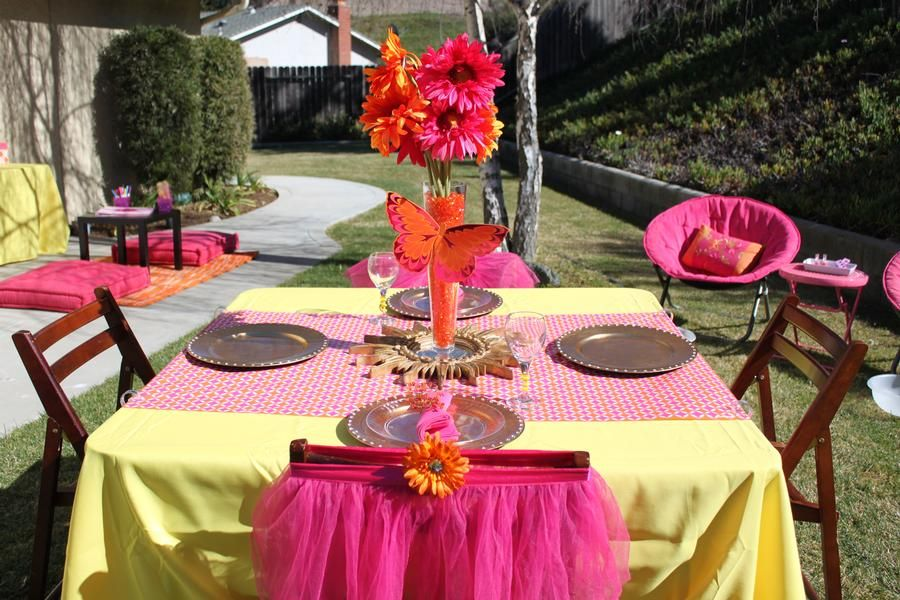 Colors are great for a summer party'