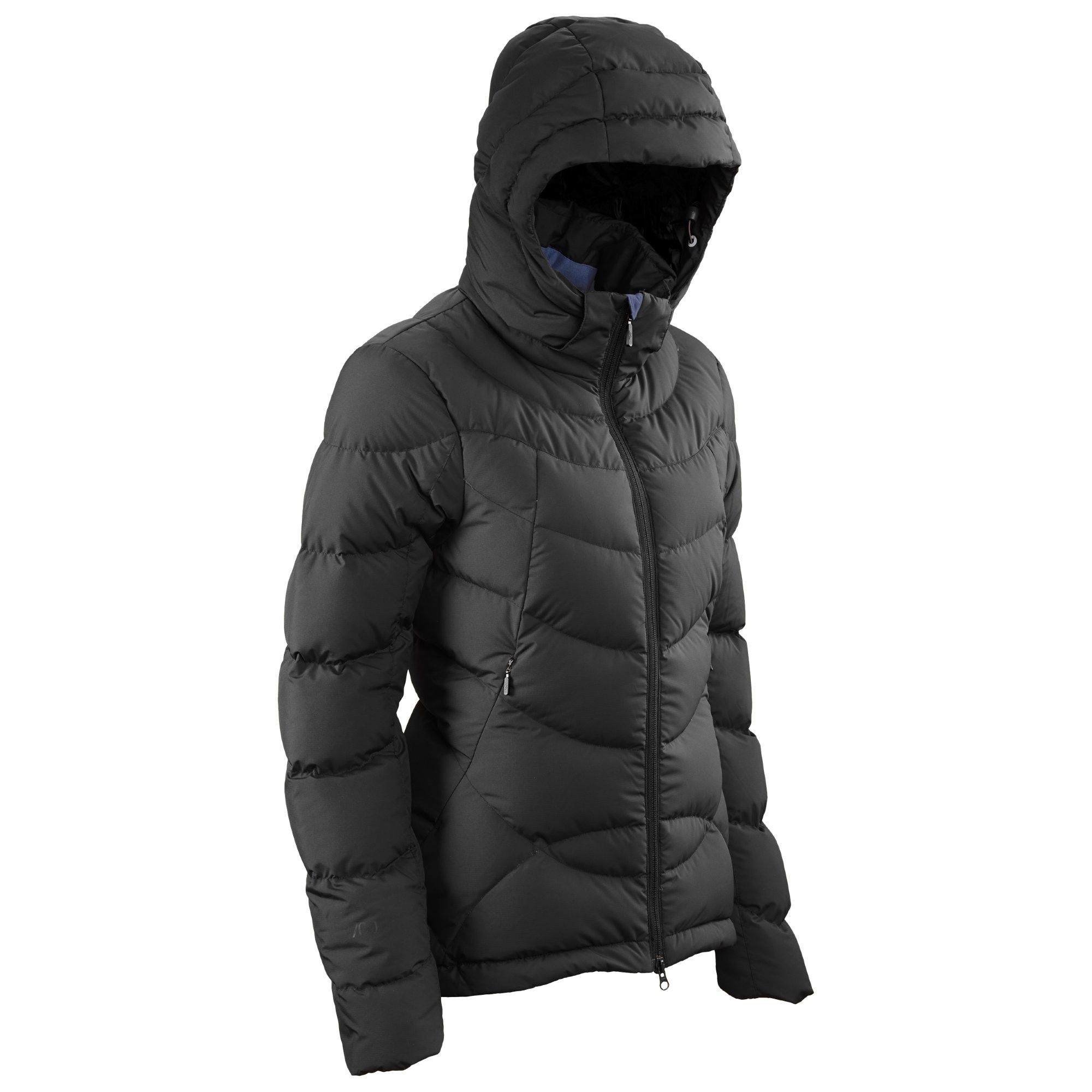 Buy Goose Down Women's Hooded Jacket v4 - Black online at ...