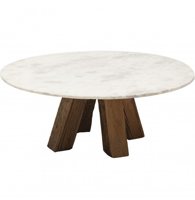 Sandblasted Marble Coffee Table   Furniture   Accent Tables   Coffee Tables  Shelley Sass Designs 858