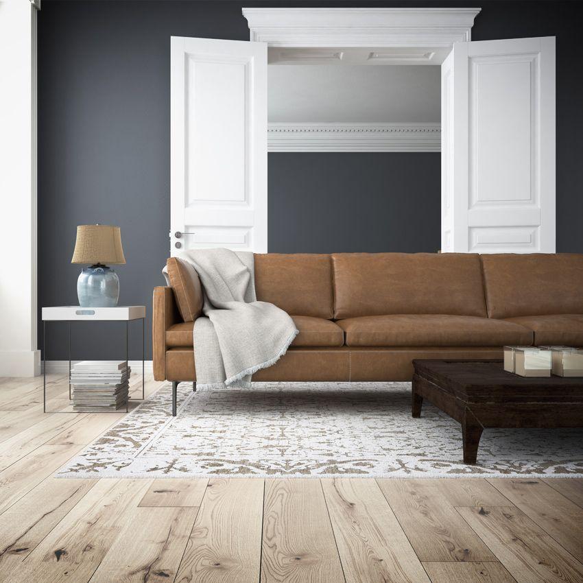 Con un sof marr n las opciones de colores para tus paredes son infinitas depa pinterest - Sofa marron de que color las paredes ...
