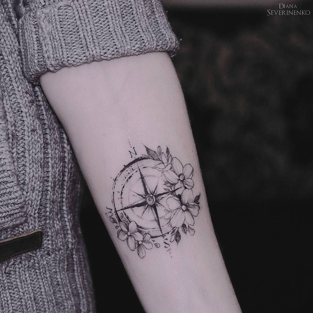 #compass #travel, Travel Tattoo