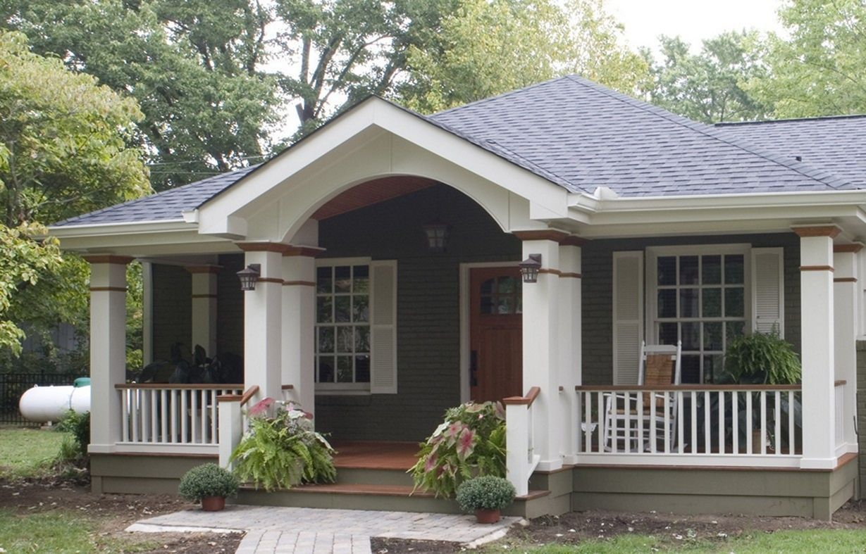 Beautiful 30 Simple Home Porch Designs For Your Minimalist Home Teracee Porch Roof Styles Front Porch Addition Front Porch Design