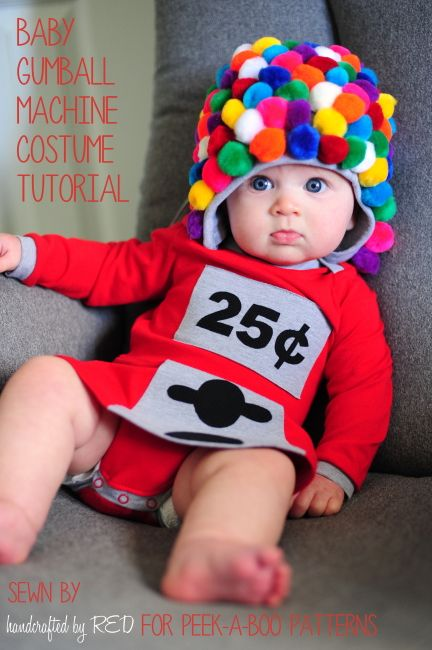 DIY Baby Gumball Machine Costume | Creative Crafts | Pinterest ...