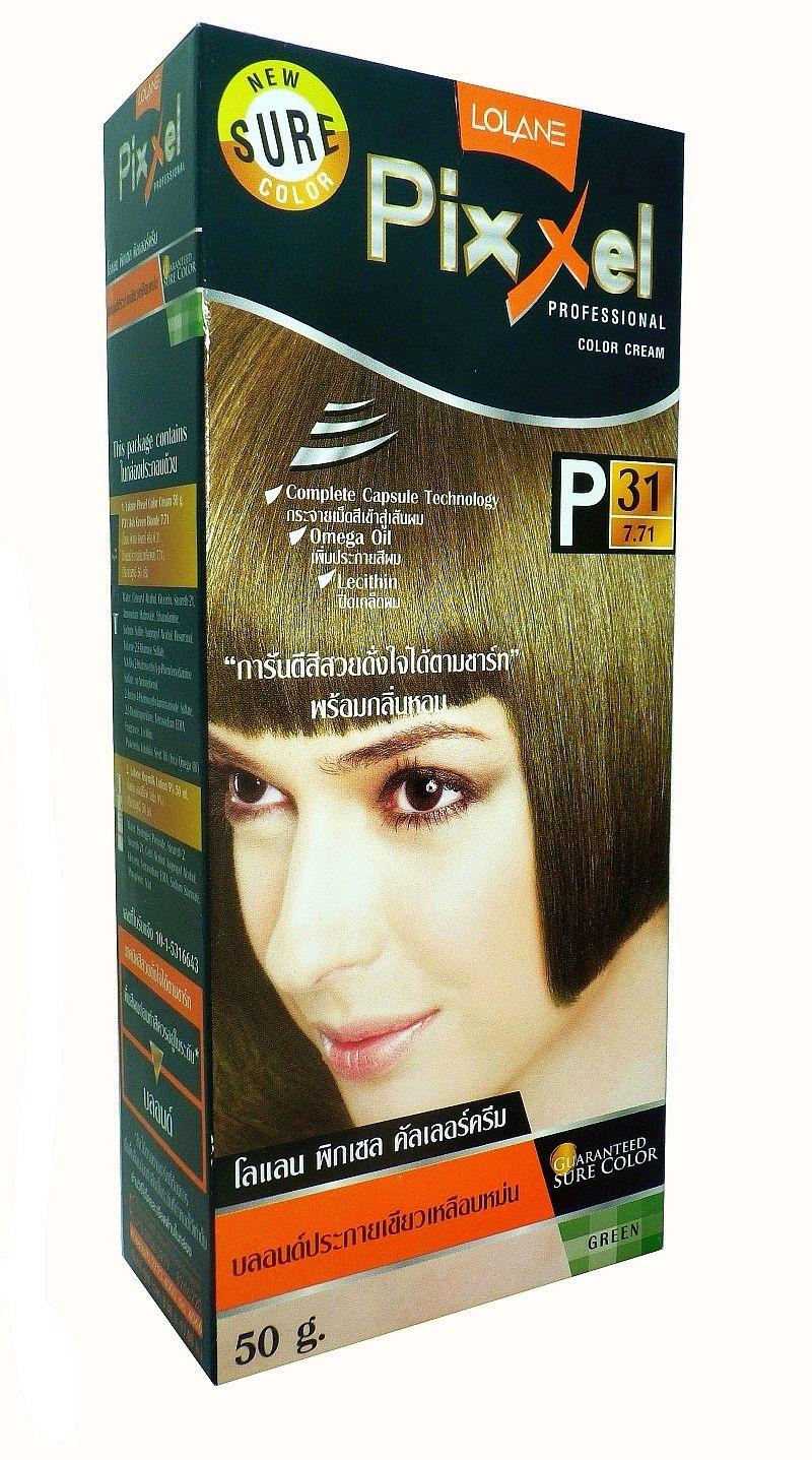 Hair Color Permanent Hair Cream Dye Lolane Ash Green Blonde P31 Hair Color Hair Cream Professional Hairstyles