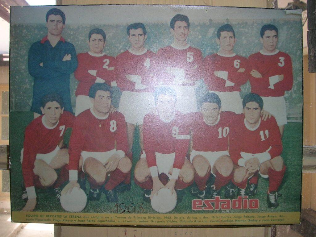 Deportes La Serena: Plantel 1963