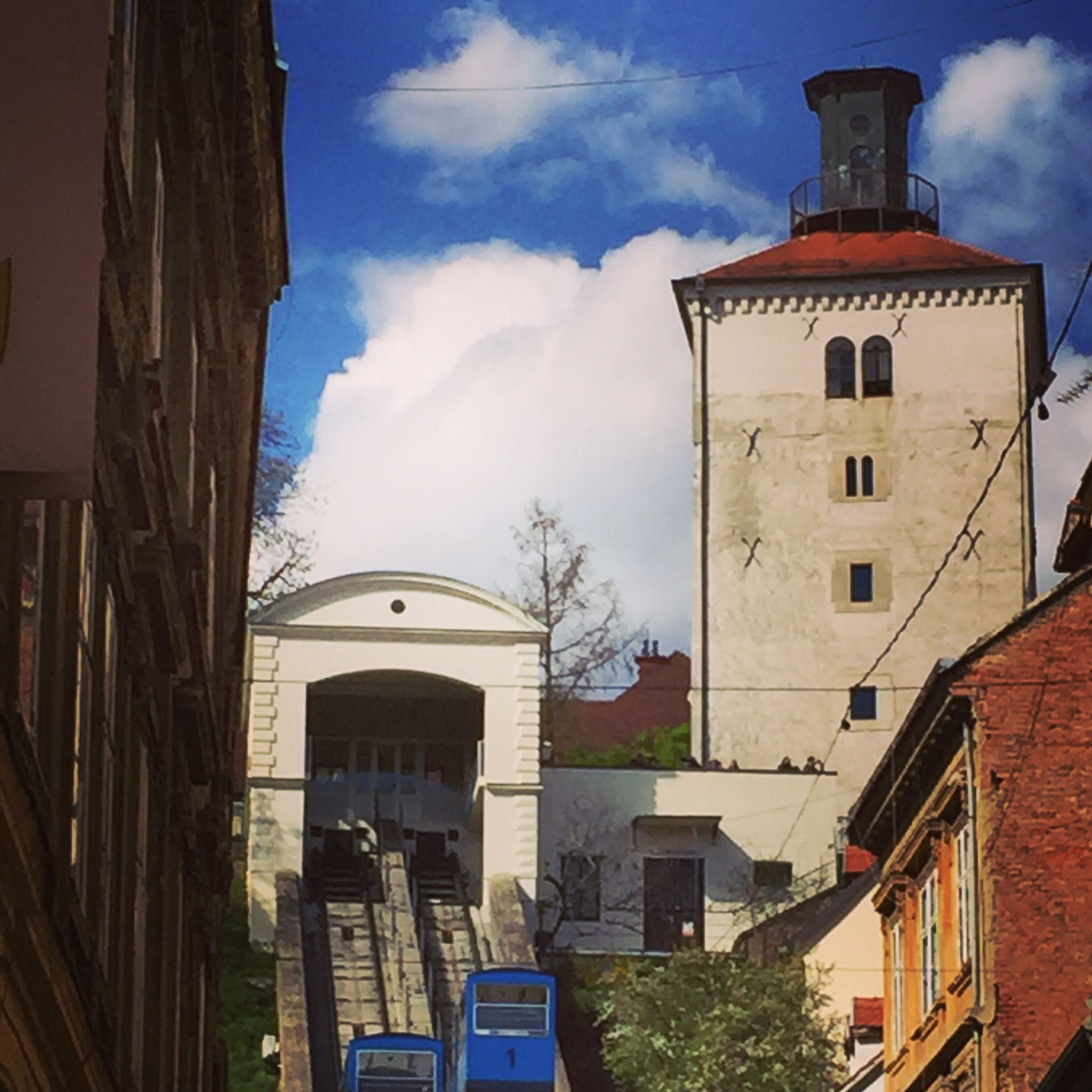 Lotrscak Tower Zagreb House Styles Mansions Croatia