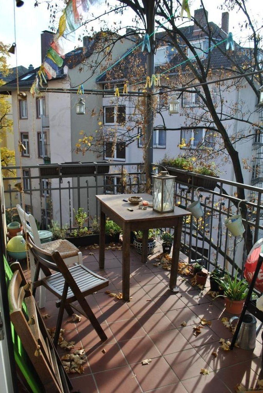 Living Room Balcony Design: 32 The Best Autumn Apartment Balcony Decor Ideas