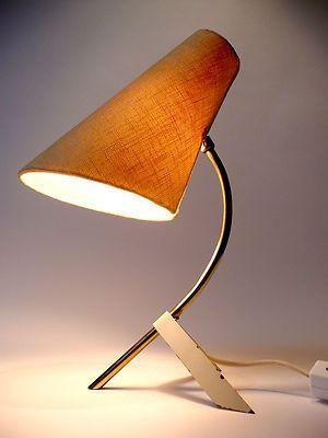 Original 1950s Table Desk Lamp Eames Panton Modernist Mid Century 60s 70s Era