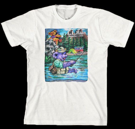 418809bbb91 Grateful Dead T Shirt .... LL RAIN .. Summer by GratefulDesign ...