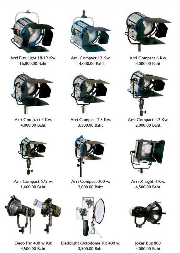 arri lights images Film and video lighting equipment for hire Bangkok u0026 Pattaya Thailand from Bangkokvideoproductions  sc 1 st  Pinterest & arri lights images Film and video lighting equipment for hire ... azcodes.com