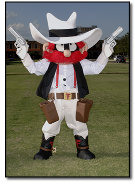 Raider Red TTU mascot Won NCAA Mascot of the year 2012