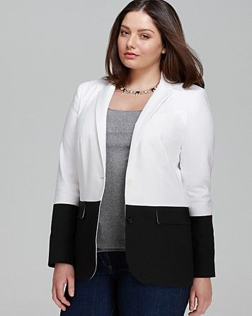 MICHAEL Michael Kors Plus Color Block Blazer | Bloomingdales