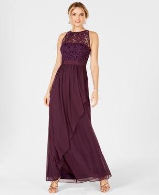 138e8cf156e Lace Illusion Halter Gown  179.00 Get wrapped up in the sweet romance of  this fairy-tale gown from Adrianna Papell. A picture-perfect choice for the  wedding ...