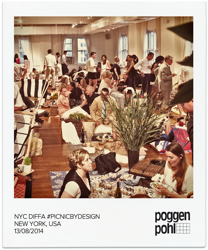 Poggenpohl sponsored the DIFFA #PICNICBYDESIGN Event held at Midtown Loft & Terrace on Fifth Avenue in New York City