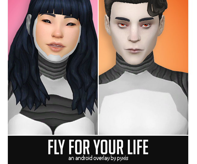 FLY FOR YOUR LIFE ANDROID OVERLAY PYXIS SIMS Sims